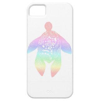 虹の曼荼羅のカメ iPhone SE/5/5s ケース