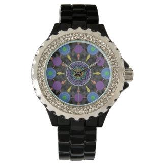 虹の曼荼羅のArayの腕時計 腕時計