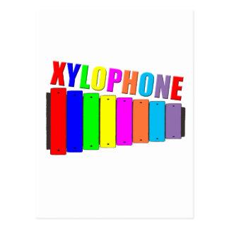 虹の木琴 ポストカード