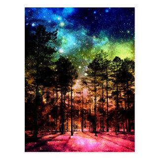 虹の森林 ポストカード