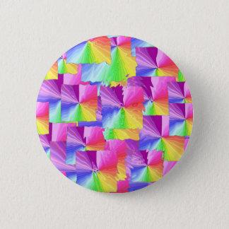 虹の正方形 缶バッジ
