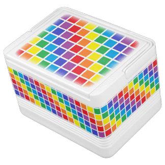 虹の正方形 IGLOOクーラーボックス