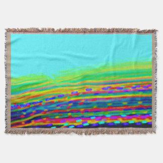 虹の汚点のブランケット スローブランケット