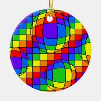 虹の泡オーナメント セラミックオーナメント