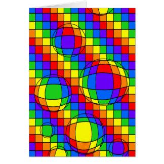 虹の泡カード カード
