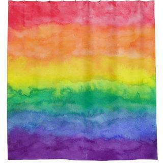 虹の洗浄シャワー・カーテンH シャワーカーテン