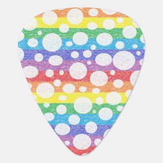 虹の海のギターピックの泡 ギターピック