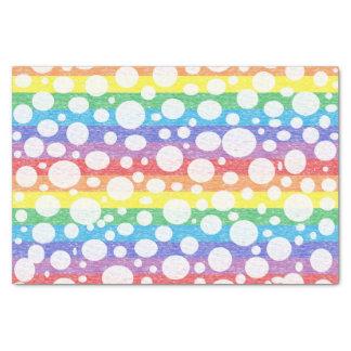 虹の海のティッシュペーパーの泡 薄葉紙