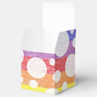 虹の海の好意箱の泡 フェイバーボックス