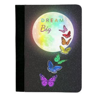虹の満月及び大きい虹の蝶夢 パッドフォリオ