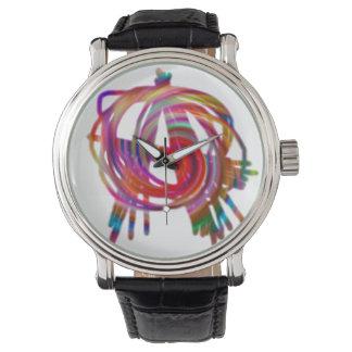 虹の無秩序の腕時計 腕時計