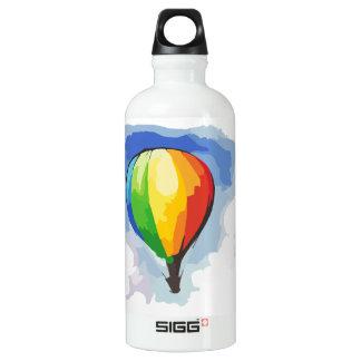 虹の熱気の気球 ウォーターボトル
