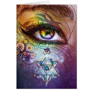 虹の目愛及びライト カード