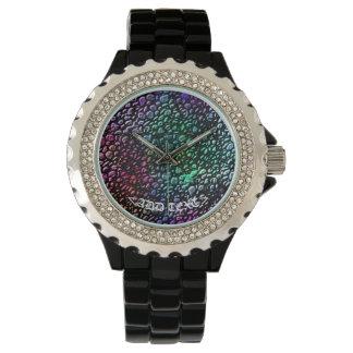 虹の石 腕時計
