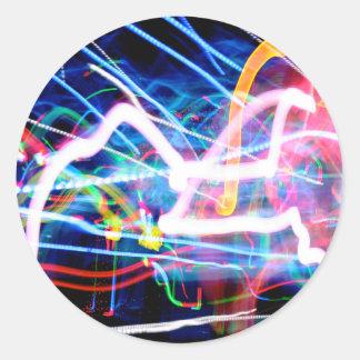 虹の稲妻 ラウンドシール