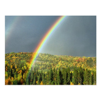 虹の空のオフィスは運命の運命を個人化します ポストカード