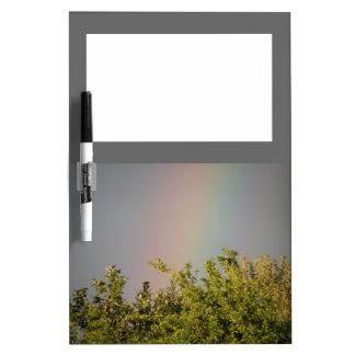 虹の空のメモ板 ホワイトボード