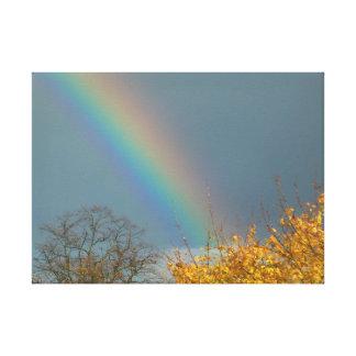 虹の端 キャンバスプリント