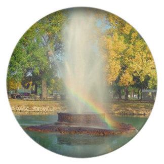 虹の端 プレート