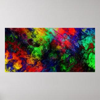 虹の粘着物 ポスター
