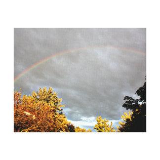 虹の約束 キャンバスプリント