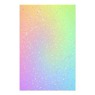 虹の紙吹雪 便箋