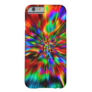 虹の絞り染めのカスタムのiPhone6ケース Barely There iPhone 6 ケース