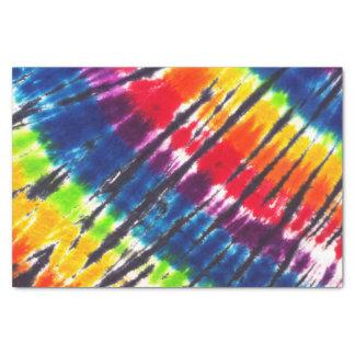 虹の絞り染め 薄葉紙