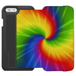 虹の絞り染め iPhone 6/6Sウォレットケース