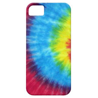 虹の絞り染め iPhone SE/5/5s ケース