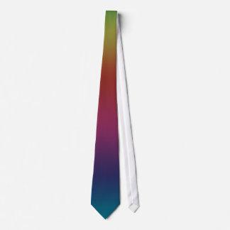 虹の美しいの暗闇- ネクタイ