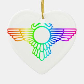 虹の翼 セラミックオーナメント