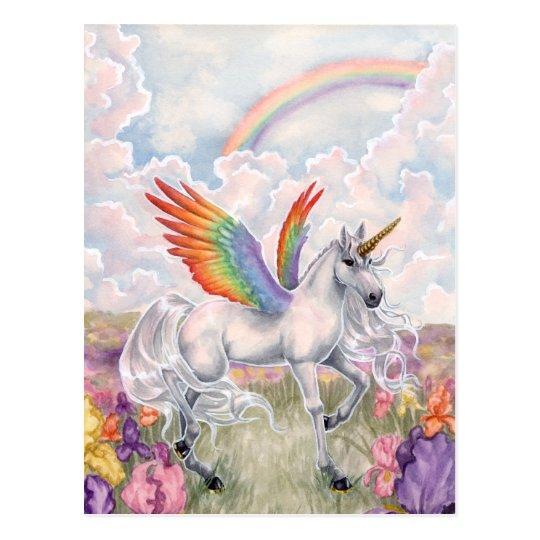 虹の翼 ポストカード