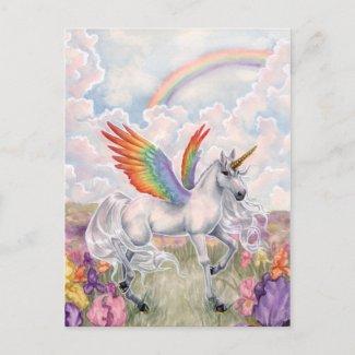虹の翼 葉書き