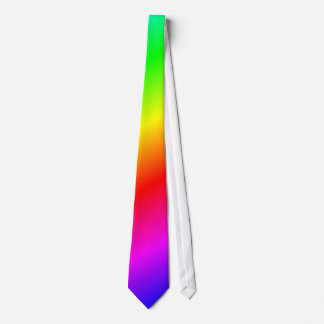 虹の背景 ネクタイ