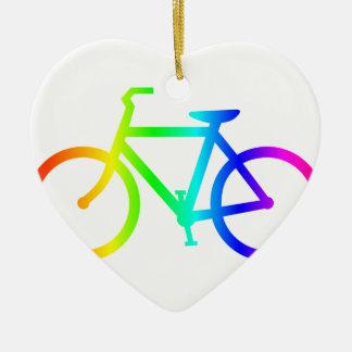 虹の自転車4 セラミックオーナメント