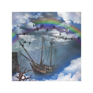 虹の船 キャンバスプリント