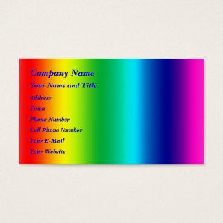 虹の色 名刺