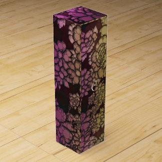 虹の花の抽象芸術 ワインギフトボックス