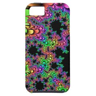 虹の花弁のフラクタル iPhone SE/5/5s ケース