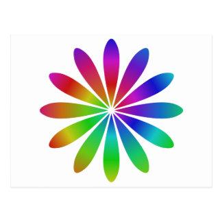 虹の花 ポストカード