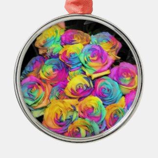 虹の花 メタルオーナメント
