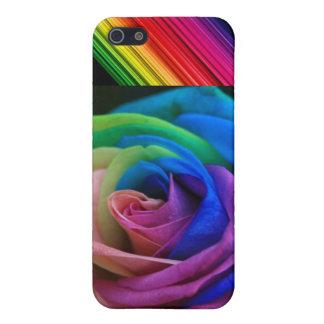 虹の花 iPhone 5 カバー