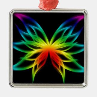 虹の蝶花 メタルオーナメント