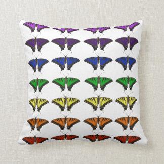 虹の蝶 クッション
