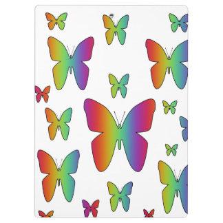 虹の蝶 クリップボード