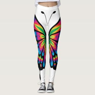 虹の蝶 レギンス