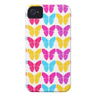 虹の蝶iPhone 4/4Sの場合 Case-Mate iPhone 4 ケース