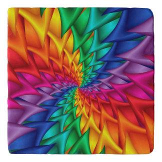 虹の螺線形のとげTrivet トリベット