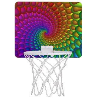虹の螺線形のバスケットボールのゴール ミニバスケットボールゴール